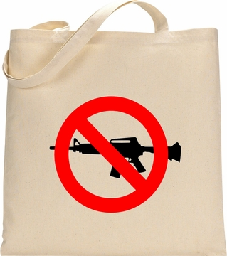 No AR15 Tote Bag