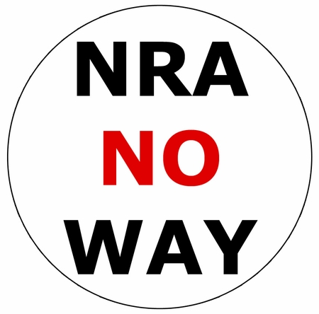 NRA NO WAY Button