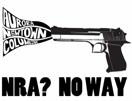NRA NO WAY T-SHIRT