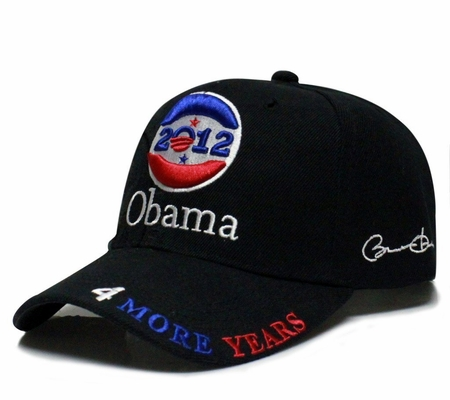 Obama 2012 Black Baseball Cap