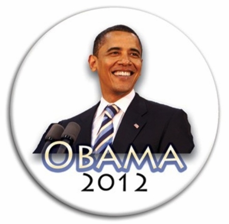 Obama 2012  Photo Button