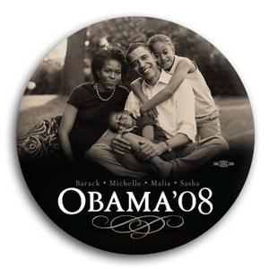 "Obama Family 3"" Magnet"