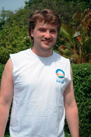 Obama Pride Muscle Shirt