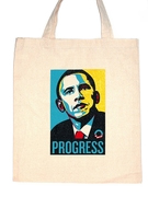 Obama Progress Tote Bag
