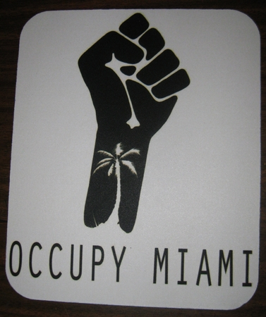 Occupy Miami Mouse Pad