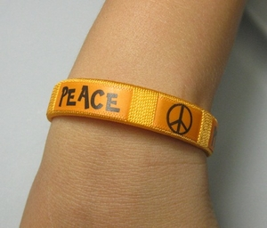 PEACE WRIST BANDS