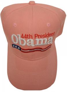 Pink 44th President Obama Baseball Cap