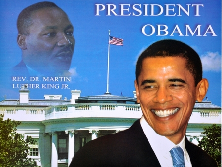 President Obama - Martin Luther King White House Poster 9 x 12in.