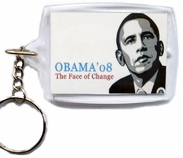 "President  Obama ""The Face Of Change"" Key Chain"