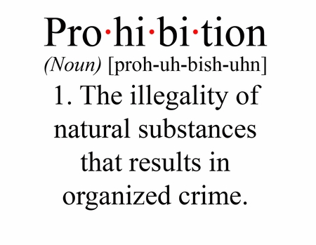 Prohibition Definition T-shirt.