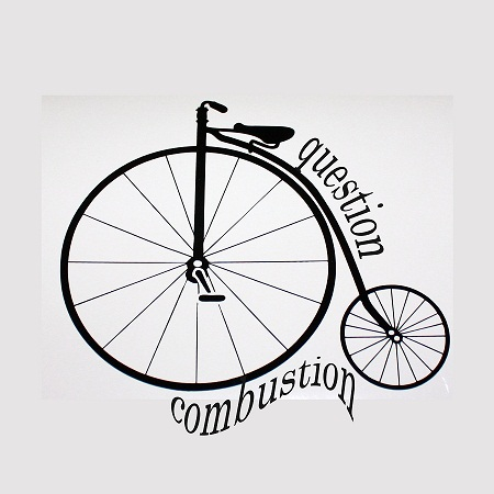 Question Combustion Old Bike T-Shirt
