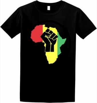 Rasta Africa Black Power T-Shirt
