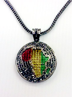 Rasta Africa Hiphop Necklace