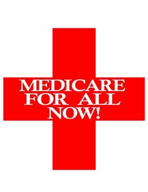 Red Cross Medicare For All T-Shirt
