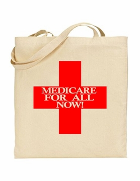 Red Cross Medicare For All Tote Bag