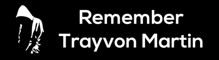 Remember Trayvon Martin Bumper Sticker
