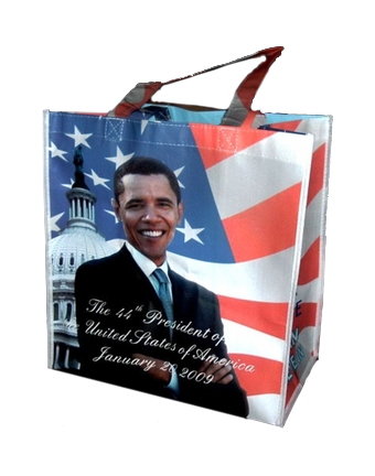 Reusable Obama Shopping Bag