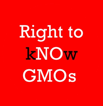 Right to kNOw GMOs Organic Cotton T-Shirt