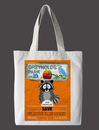 Save Greynolds Park Tote Bag