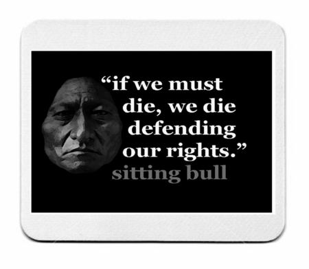 Sitting Bull Mouse Pad