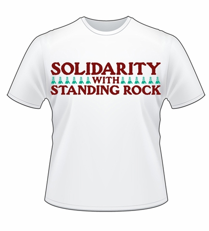 Solidarity with Standing Rock T-shirt!