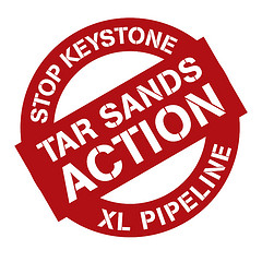 Stop the Keystone Pipeline Button