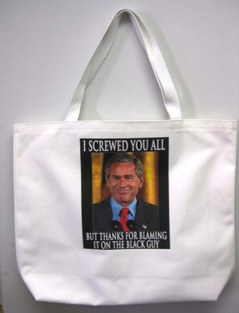 Thanks For Blaming The Black Guy Photo Reusable Tote Bag