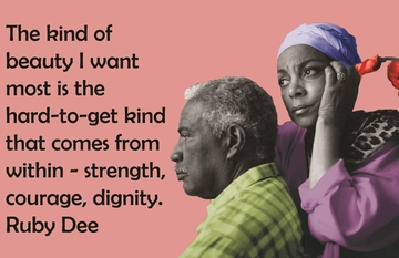The Beauty Of Ossie Davis & Ruby Dee T-Shirt