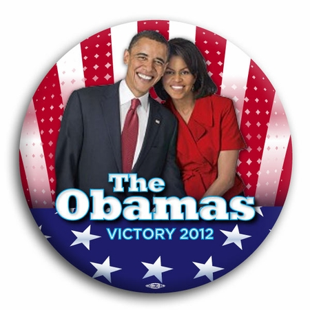 The Obama's 2012 Victory Button