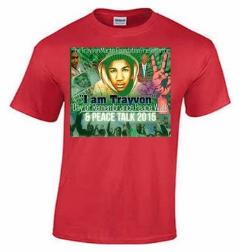 Trayvon Martin Day of Rememberance Peace Walk T-Shirt
