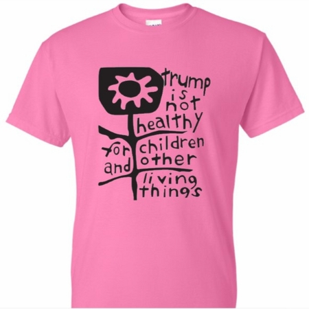 Trump is Not Healthy Pink T-Shirt