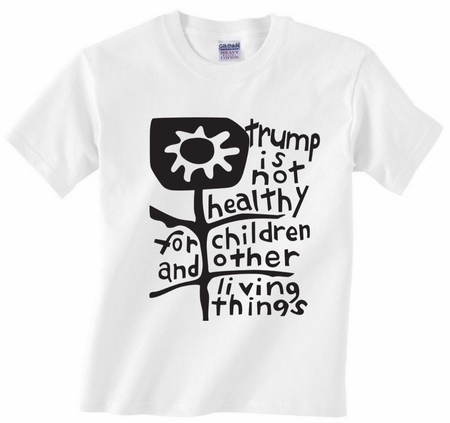 Trump is Not Healthy White T-Shirt