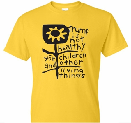 Trump is Not Healthy T-Shirt Yellow