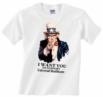Uncle Sam Universal Health Care T-Shirt