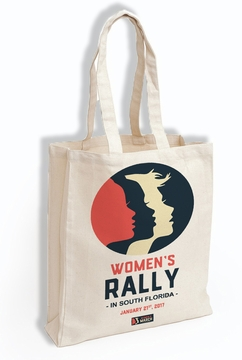 Women's Rally in South Florida Solidarity with Women's March on Washington Tote Bag