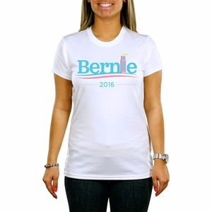"Womens Art Deco ""Bernie 2016"" T-shirt"