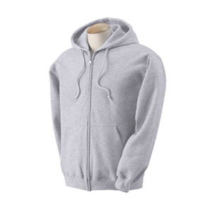 Zipper Down Hoody