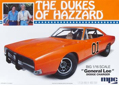 MPC 752 1/16 Dukes General Lee Charger by ROUND 2 LLC