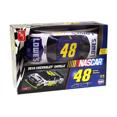 1/25 NASCAR 2010 # 48 Jimmie Johnson Snap by ROUND 2