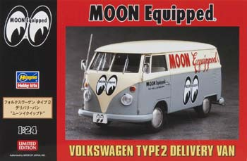 Hasegawa 20249 1/24 VW Type 2 Delivery Van Moon Eyes Ltd Ed
