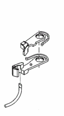 Accurail Inc Accumate #5 Coupler HO (1PR) unassembled