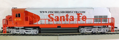 AHM 50204 Santa Fe War Bonnet # 8731 Unpowered Dummy unit HO