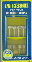 AHM 5612 Assorted RR And Traffic Sings HO Scale