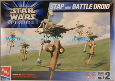 AMT 30124 Stap with Battle droid Star Wars Episode 1 KIT