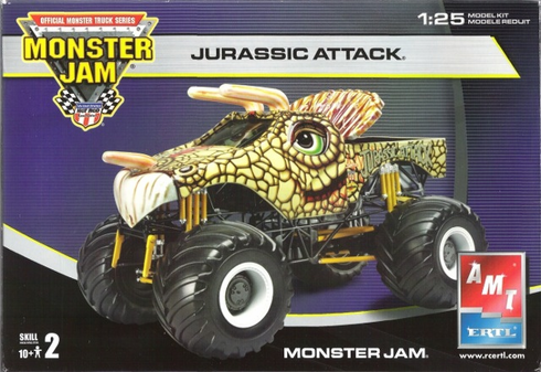 AMT 38185 Jurassic Attack Monster truck 1:25th scale kit