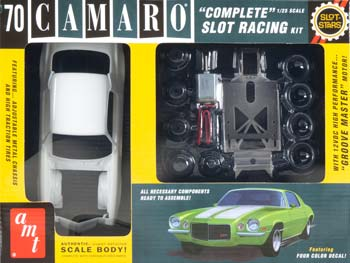 AMT 744 SCAMT744/12 1/25 '70 Ch Camaro Concept Slot Car Kit