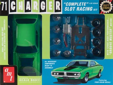 AMT 784 SCAMT784/12 1/25 '71 Dg Charger RT Slot Car Kit