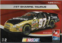 AMT 38067A #97 Kurt Busch Sharpie 1/25 nascar kit