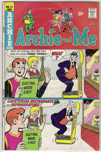 Archie series Archie and Me 74