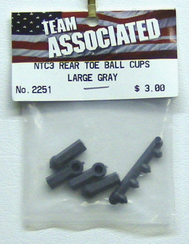 Associated 2251 Rear Toe Ball Cups Large NTC3 (4)